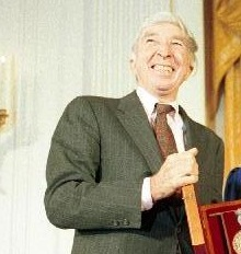 John Updike with Bushes new.jpg