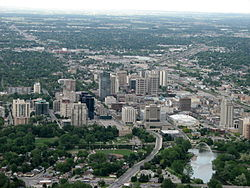 Skyline of London, Ontario
