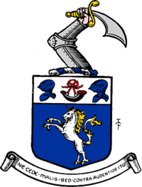 Arms of the County of Roxburgh
