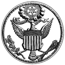 The Great Seal of the United States of America during the American Civil War