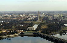 The National Mall in Washington