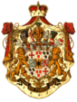 Coat of arms of Waldeck–Pyrmont (19th century)