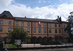 Prefecture building of the Hautes-Pyrénées department, in Tarbes