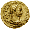 Claudius II coin (colourised).png