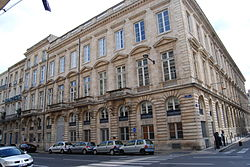 Prefecture building of the Gironde department, in Bordeaux