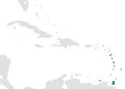 Location within the Caribbean.