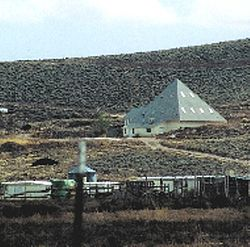 Pyramid shaped temple of the Righteous Branch of the Church of Jesus Christ of Latter-day Saints