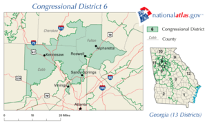 United States House of Representatives, Georgia District 6 map.png
