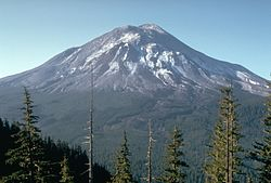 Conical mountain