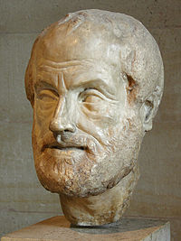 Copy of a lost bronze bust of Aristotle made by Lysippos (4th century BCE)