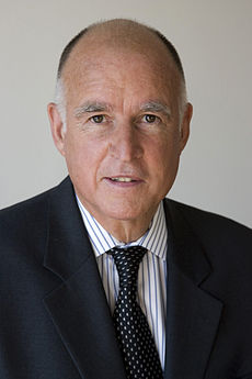 Governor of California Jerry Brown