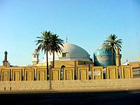Shrine of Abdul Qadir Jilani in Baghdad, Iraq