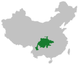 Sichuanese language region in China