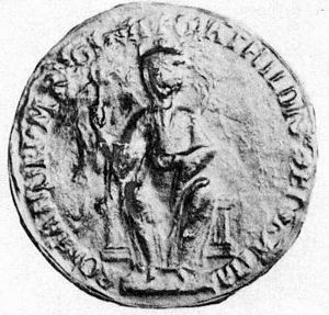 Picture of the Empress Matilda's Great Seal