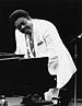 Fats Domino performing live in New York