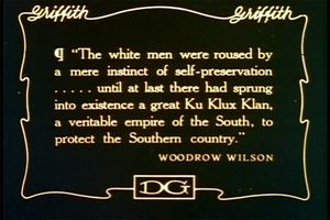 """The white men were roused by a mere instinct of self-preservation...until at last there had sprung into existence a great Ku Klux Klan, a veritable empire of the South, to protect the Southern country."""