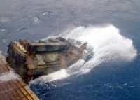 US Navy 020912-N-8087H-005 AAV launches from the well deck.jpg