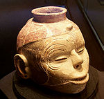 Effigy head pot from the Nodena Site