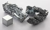 Image: Zinc, fragment and sublimed 99.995%