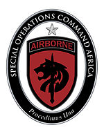 Special Operations Command Africa: United States Army Element Shoulder Sleeve Insignia and Combat Service Identification Badge
