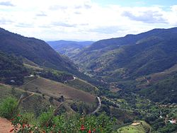 Vale do Canaã (portuguese), a valley near of this town