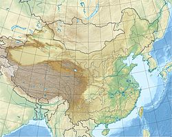 1933 Diexi earthquake is located in China