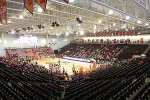 Interior of the Stroh Center