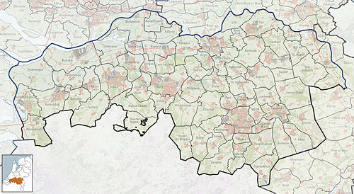 North Brabant is located in North Brabant